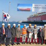 Capai Kemajuan 62,5% Pertamina Lepas Perdana Kapal FSRU Jawa-1