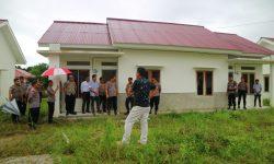 Kapolda Kaltara Tinjau Pembangunan 100 Unit Rumah Polri di Nunukan