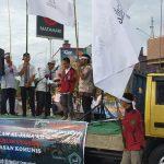 Aksi Solidaritas Santri di Samarinda Bela Muslim Uyghur