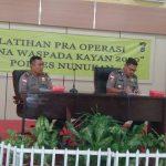Polres Nunukan Gelar Operasi Bina Waspada Kayan 2020