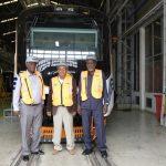 Jajaki Kerja Sama, Tiga Pengusaha Sudan Kunjungi PT INKA