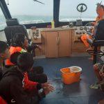 Kapal Mati Mesin, 9 Pemancing Ditemukan Selamat di Teluk Balikpapan