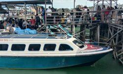 Imbas Aksi Mogok 50 Speedboat, Dishub Kerahkan 5 Unit Speedboat Milik Pemprov