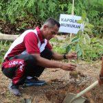 1.500 Bibit Pohon Ditanam di Nunukan