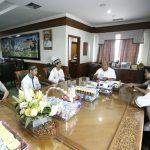 DPD Wahdah Islamiyah Audiensi, Ismunandar Minta Bisa Sinergi dengan Pemerintah