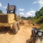 Diperbaiki, Jalan Rusak Parah di Desa Mata Air Sudah Bisa Dilewati Kendaraan