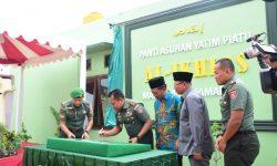 Panti Asuhan Yatim Piatu Al-Ikhlas Rampung, Pangdam Subiyanto Apresiasi Dermawan