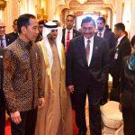 Tiba di Abu Dhabi, Presiden Jokowi Langsung Melakukan Pertemuan Bilateral