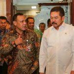 Pimpinan KPK Kunjungi Jaksa Agung