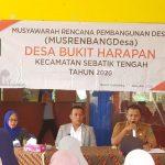 Dua Anggota DPRD Asal Sebatik Hadiri Musrenbang Tingkat Desa