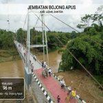Tahun 2020, Pemerintah Akan Bangun 148 Jembatan Gantung