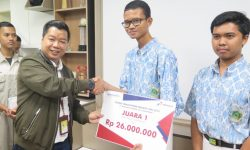 MAN 1 Balikpapan Juara Pertama Kompetisi Young Innovation Project Pertamina