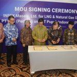INPEX, PLN, dan PT Pupuk Indonesia Tandatangani Komitmen Jual Beli Gas Blok Masela