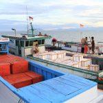 Eskpor Hasil Laut Nunukan ke China Via Tawau Turun 12 Ton per Hari