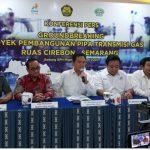 Pipa Transmisi Gas Cirebon-Semarang Mulai Digarap