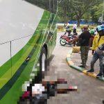 Hendak ke Martapura Hadiri Haul Guru Sekumpul, Khairiyah Terlindas Bus