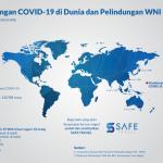 Kemlu: 15 WNI Positif Covid-19 di Luar Negeri, 7 Dinyatakan Sembuh