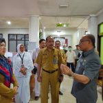 Bupati Muharram Tinjau Ruang Isolasi untuk Pasien Covid-19