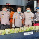 Polisi Gagalkan Peredaran 10 Kg Sabu Malaysia di Samarinda