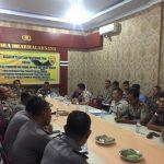 Kapolres Nunukan Paparkan Program dan Sistim Pembinaan Personil