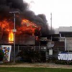 Kompor Meledak, Rumah Sumardi jadi Arang