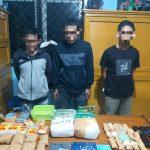 Dibawa dari Riau, Sabu Hampir 5 kg dan 1.400 Butir Ineks Gagal Edar di Jambi