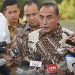 Gubernur Sumatra Utara Laporkan Kesiapan Jadi Tuan Rumah PON 2024 ke Presiden