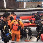 Penyelaman 1 Jam di Sungai Mahakam, Wati Masih Hilang