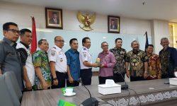 DPRD-Pemprov Kaltim Bahas Pengembangan Bandara APT Pranoto di Kemenhub