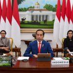Presiden Jokowi Ikuti KTT LB G20 Secara Virtual dari Istana Bogor