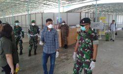 Prajurit Pamtas Yonif Raider 600 Modang Diingatkan Tidak Lengah Cegah Covid-19
