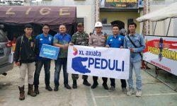 XL Axiata Beri Bantuan Korban Gempa di Kalapanunggal Sukabumi