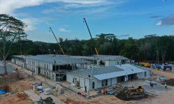 Konstruksi Sudah 78%, Optimis Pembangunan Fasilitas di Pulau Galang Sesuai Target