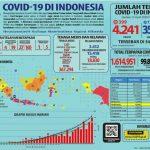 COVID-19, Jumlah Pasien Sembuh Meningkat jadi 359 Orang