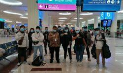 116 WNI dari Uni Emirat Arab Kembali ke Indonesia