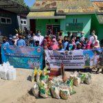 TNI-Polri, IDI dan Kadin Nunukan Sumbang Sembako ke Panti Asuhan