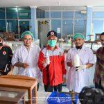Jaang Lihat Pembuatan Hand Sanitizer di STIKES Kagama
