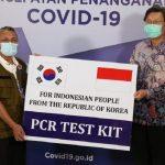 Bantuan PCR Pemerintah Republik Korea Berkapasitas 32.200 Tes