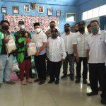Bagikan Paket Sembako, Pemkot Samarinda Gunakan Jasa Ojek Online