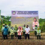 Ketua Perhiptani Kutim Dukung Pemkab Produksi Pangan di Lahan Pekarangan