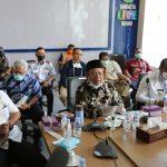 Cegah Penyebaran COVID-19, Bupati Kutim Rapat Bersama Mendagri Melalui VC