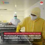 Menperin Terbitkan SE Pelaksanaan Operasional Pabrik Sesuai Protokol Kesehatan