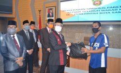 Pandemi Corona, 400 Wakar di Samarinda Dibantu Sembako Sumbangan ASN