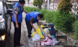 BNNP Kaltim Peduli, Bantu Sembako Warga Terdampak Pandemi Corona