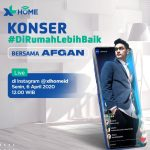 Konser Digital Bareng Afgan, XL Hibur Pelanggan yang Lagi Physical Distancing