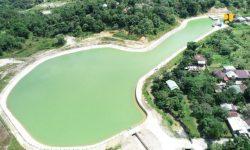 Pemerintah Selesaikan Bangun Embung Rawa Sari di Tarakan, Kapasitas 112.000 m³