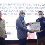Gotong-Royong Lawan Covid-19, Satgas Bencana BUMN Kaltim Bantu 1.278 APD