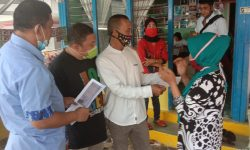 DPRD Nunukan Monitoring Warung Penukaran Voucher Bansos COVID-19