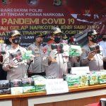 Polri Bongkar Penyelundupan 71 Kg Sabu Dari Sumatera ke Jakarta
