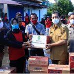 Wagub Hadi Mulyadi Tinjau Korban Banjir di Samarinda